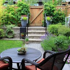 Featured image for page of tips on how to create a stunning container garden.