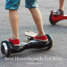 Featured image for a page of reviews of the best hoverboards for kids.